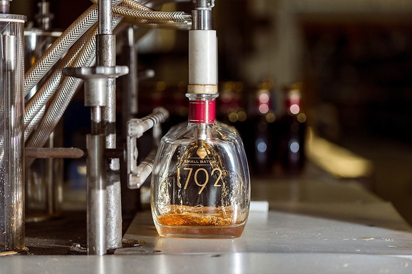 Barton's 1792 Bottling Process